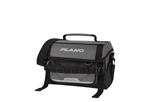 Plano PLAB36121 Weekend Serie Softsider Tackle Bag 3600 Größe, Unisex-Erwachsene, 3600 Size Softsider Tackle Bag, w/ 2-3600's, Grey, grau, Einheitsgröße -