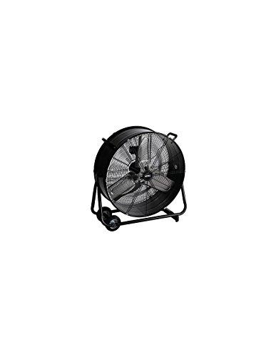 Perel TOOL173 Haushalts-Lamellenlüfter 330W Schwarz - Ventilatoren (Schwarz, 330 W, 220 - 240, 755 mm, 23,5 kg)