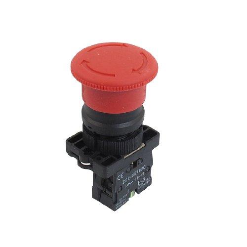 Preisvergleich Produktbild ZB2-ES542 NC Normalerweise Schließen Rotes Sign Momentane Not-Aus Druckschalter De