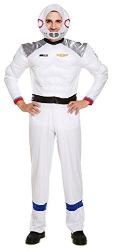 tüm Astronaut Fach Uniform Sci Fi Erwachsene Kostüm Outfit (Astronauten Outfits)