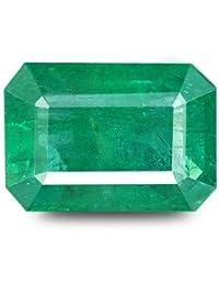 PRAJAPATIS 6.45 Carat -7.25 Ratti Zambian Emerald (Panna Stone) Certified Natural Gemstone AA++