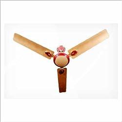 ALMONARD _Red Ceiling Fan