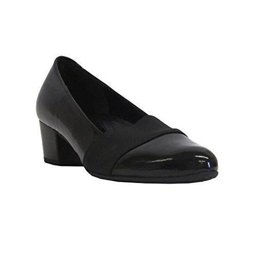 Gabor Shoes Comfort Fashion, Scarpe con Tacco Donna Nero (Schwarz)