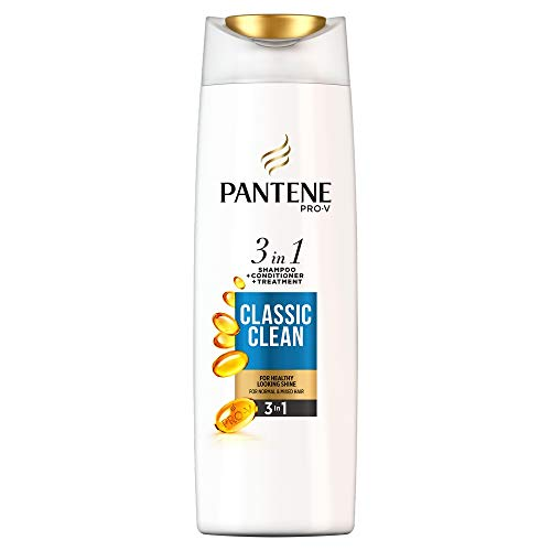 Pantene Pro-V Classic Clean 3-in-1 Shampoo Plus Conditioner, für normales bis gemischtes Haar