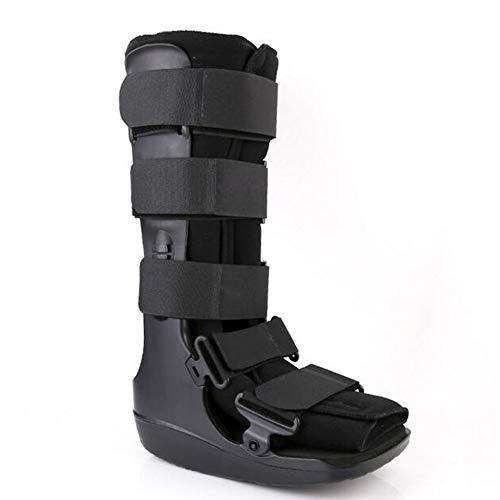 Wangxn piede caviglia guardia di supporto ceppi distorsioni boot protector stabilizer,black