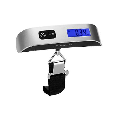 Escala electrónica Digital en Forma de T, 50 kg/10 g, para Maletas...