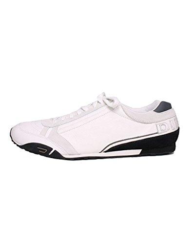 DIESEL - Sneakers A collo basso da Uomo HAROLD TAKE - Bianco (White/Castlerock H1974), 46