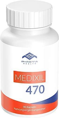 Medixil 470 | Abnehmen | Burn | Hochdosiert | für Männer und Frauen | 90 Kapseln