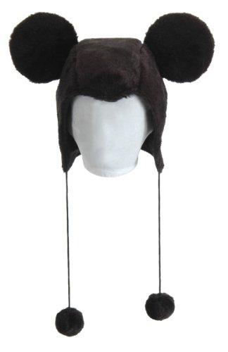 Disney Mickey Mouse Costume Laplander Hat Adult One Size