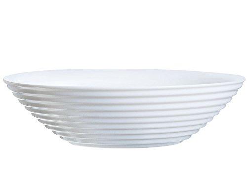Luminarc 8013930 Harena Coupelle, Verre, Blanc, 16 cm