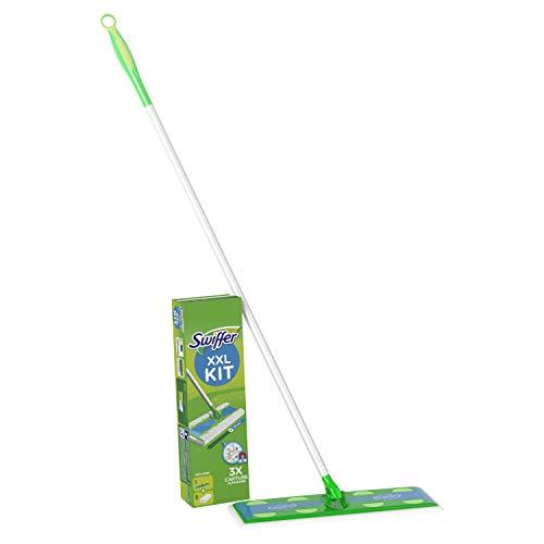 Swiffer XXL Bodenwischer & Komplett-Reinigungsystem Plus 8 Boden-Staubtücher