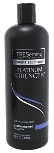 Tresemme Platinum Strength Hair Strengthening Shampoo - 25 Ounce (Pack of 3) by Tresemme