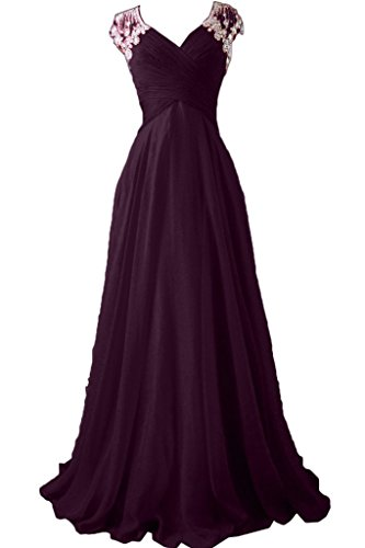 Missdressy - Robe - Plissée - Femme - Grape