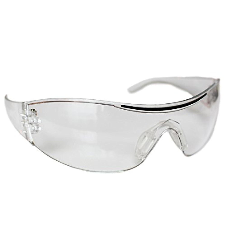 7e24cd4eac05fb Lot de 12 paires de Lunettes de Protection Transparentes par Kurtzy ...