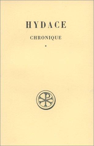 Chronique, tome 1 par Hydace