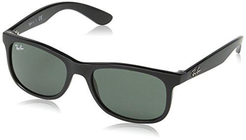 Ray-Ban Junior Kindersonnenbrille RJ9062S Schwarz, Größe 48mm