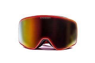 Ocean Sunglasses YH3806.1 Aspen Monture : Rouge Masque Verres : Revo Rouge