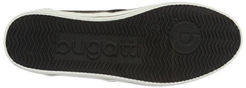 Bugatti F48026, Scarpe da Ginnastica Basse Uomo Nero (Schwarz 100)