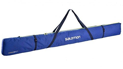Ski-3 Pair Pack (Salomon Nordic 3Pairs 215SKI BAG für Ski, Unisex Erwachsene, Blau (Surf The Web/Acid Lime))