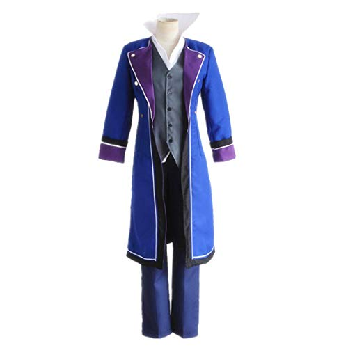 DXYQT Anime Cosplay Kostüm Uniform Party Kleidung Full Set Buch Charakter Kostüme Jungen Halloween Kostüme,Blue-XL