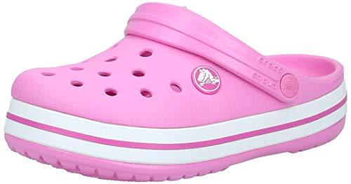 Crocs Unisex Kid's Crocband Clog K, Multicoloured (Pink 001),  12 UK Child (29-30 EU)
