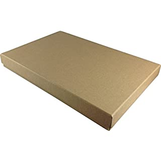 10 x Brown A4 Gift Box, 310 x 215 x 50 mm, Brown Rigid Gift / Presentation Boxes
