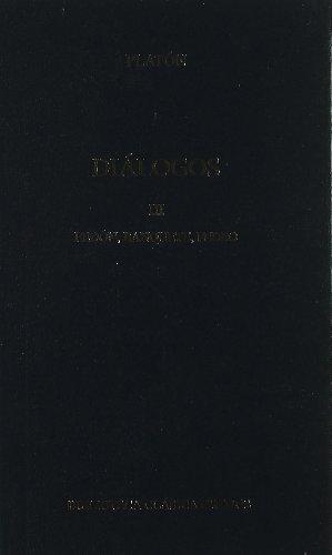 Dialogos vol. 3 fedon banquete: Fedón, Banquete, Fedro (B. BÁSICA GREDOS) por Platon