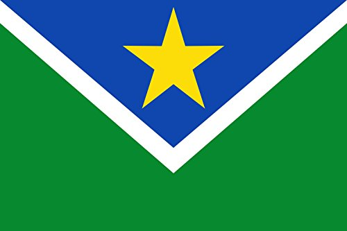 magFlags Flagge: Large Vitória do Jari - AP | Municipio de Vitória do Jari Amapá | Município de Vitória do Jari Amapá | Querformat Fahne | 1.35m² | 9