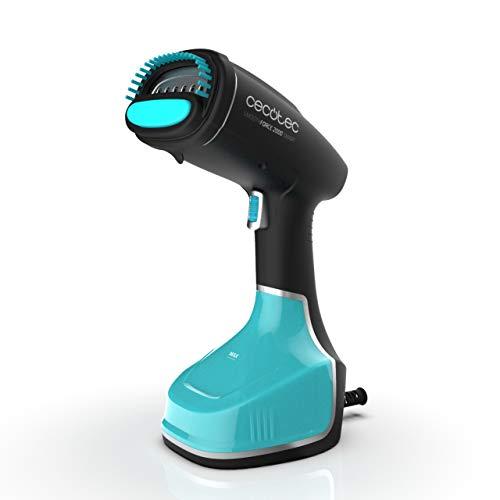 Cecotec Plancha Vapor Vertical SmoothForce 2000 Smart. 1200W. Elimina Arrugas, olores y desinfecta. Autonomía depósito 280 ML de 19 min. Calentamiento en 35 Segundos. Modo Eco. Pantalla táctil