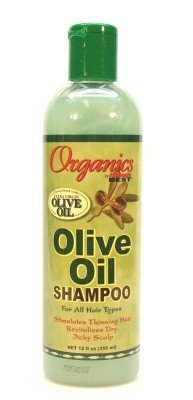 Africa's Best Organics Olive Oil Extra Virgin Shampoo 355 ml (Case of 6)