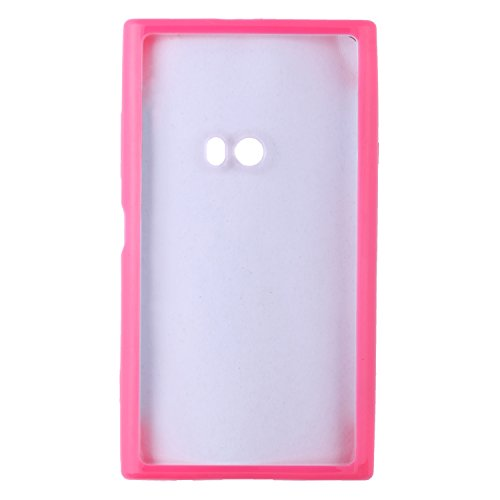 iCandy Ultra Slim Bumper Snap-on TPU Back Cover for Nokia Lumia 920 - Pink  available at amazon for Rs.99