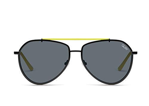 Quay Australia Dirty Habit Womens Sunglasses One Size Black Smoke