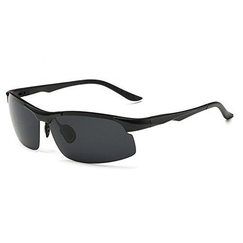 O-C Men\'s 2017 new classic stylish driving and aviator anti-reflective sunglasses TAC UV 400 polarized 75mm