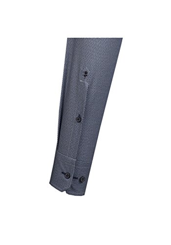Michaelax-Fashion-Trade -  Camicia classiche  - Basic - Classico  - Maniche lunghe  - Uomo Blau(14)