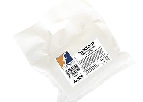 1Kg Base Jabón de glicerina transparente