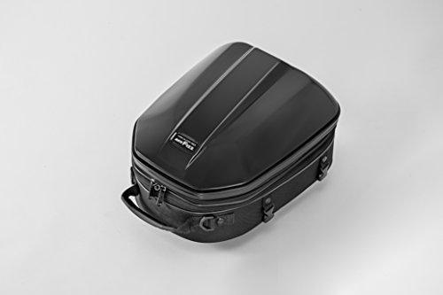 Tanax Motorrad Polycarbonat hart-Shell-Form sportlich hinten Sitz Tasche GT-Stil, Kapazität: 14-18 L (Gal 3,6-4,5), Modell MFK-240 - schwarz -