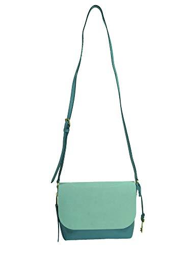 Fossil Damen Handtasche Tasche Schultertasche Maya SM Crossbody Blau ZB7679-981