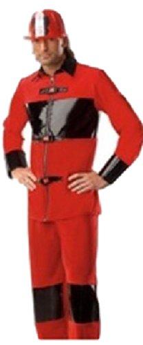 harrowandsmith Sexy Erwachsene Herren Cosplay Halloween House Party Police Fire Marshall Phil Herren Kostüm hslb2261 (Phil Erwachsenen Kostüme)