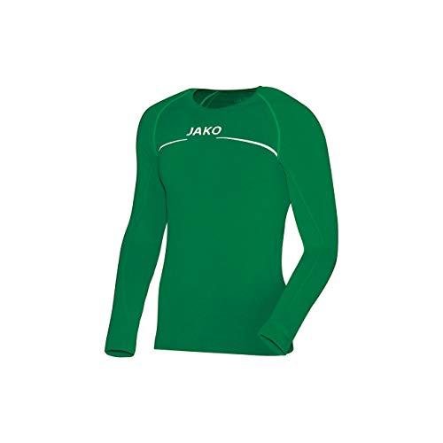 Grün, Herren Shirt (JAKO Longsleeve Comfort - Herren Langarmshirt,grün (sportgrün), L)