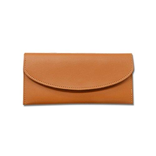 Mefly Damen Mode Leder Geldbörse Multi Card Hand Tasche Tasche Naturals