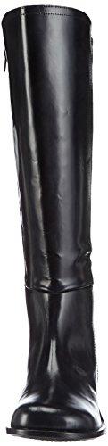 John w shoes kailey bottes d'équitation pour femme Noir (negro)