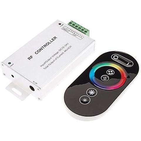 XMQC*Toccare il sensore di luce RGB reostato luminosità & Modifica colore LED controller remoto (DC 12/24V)