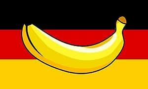Bananenrepublik Deutschland Flagge