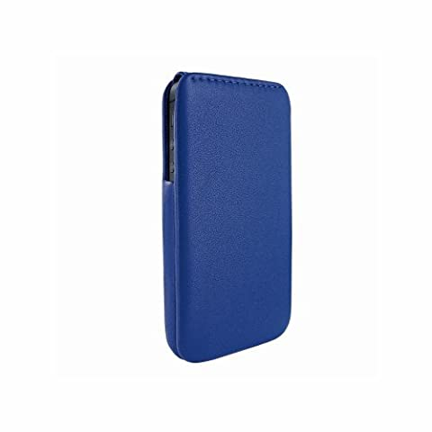 Piel Frama iMagnum U594DB Etui en cuir pour iPhone 5/5S Bleu