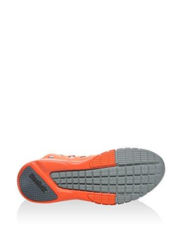 Reebok  Zrx Tr, Baskets pour femme - gris Gris/noir/orange