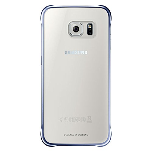 Samsung Clear Back Cover for Galaxy S6 (Black)