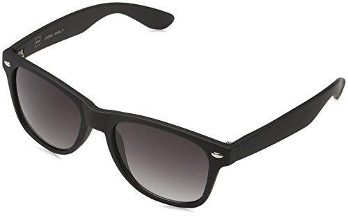MSTRDS Jungen Likoma Youth Sonnenbrille Schwarz (Black/Grey 5173), (Herstellergröße: one Size)