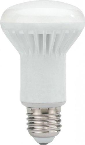 Monacor 02.1000 - Lampadina a LED per riflettore, 8W, R63, con base E27 avvitabile
