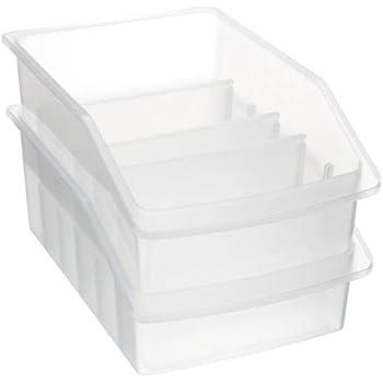 Genialbau™ Küche Kompakte Essgeschirr-Aufbewahrungsbox