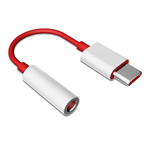 TITACUTE für Oneplus 6T Adapter Kopfhörer, USB C zu 3.5mm Klinke Audio Adapter USB C Aux Adapter Stereo Klinkenkabel mit DAC Chipset Kompatibel für Huawei Mate 20 Pro, P20 Pro, Xiaomi Mi 8 Pro, 8, 6 3.5 Mm Kopfhörer